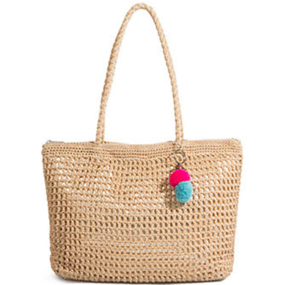 31e78054192 NWT The Sak, the Greenwood Crochet Large Tote Boutique
